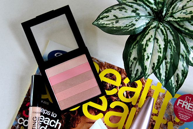 Revlon highlighting palette in Rose Glow