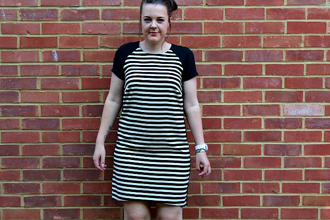 Vintage stripey dress