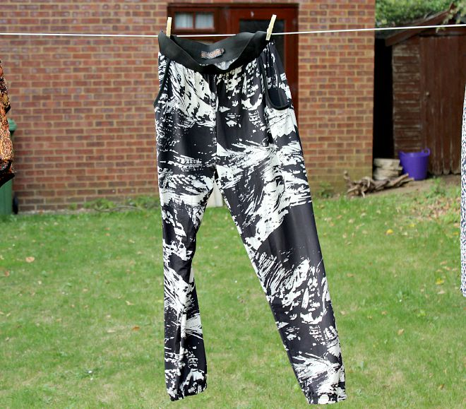 TK MAXX patterned trousers