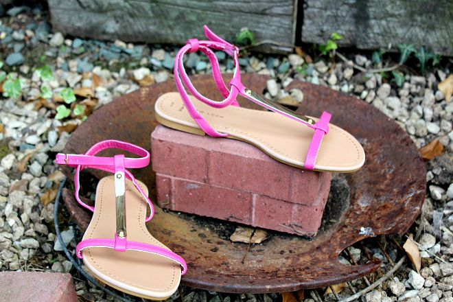 New look Pink sandals