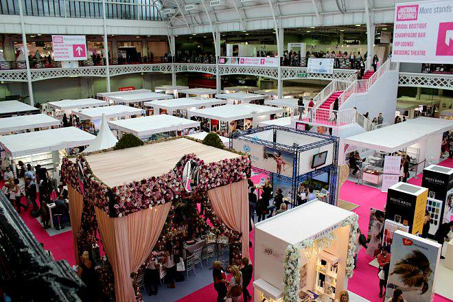 The National Wedding Show, Olympia, London