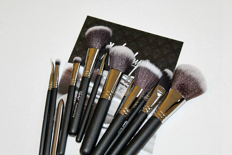 Nanshy Masterful Collection makeup brushes