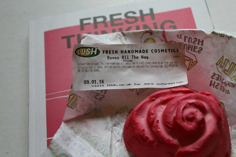 Lush Haul -Roses all the way