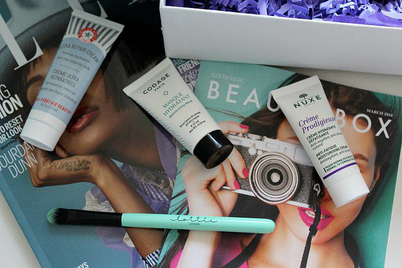 Look Fantastic Beauty Box March