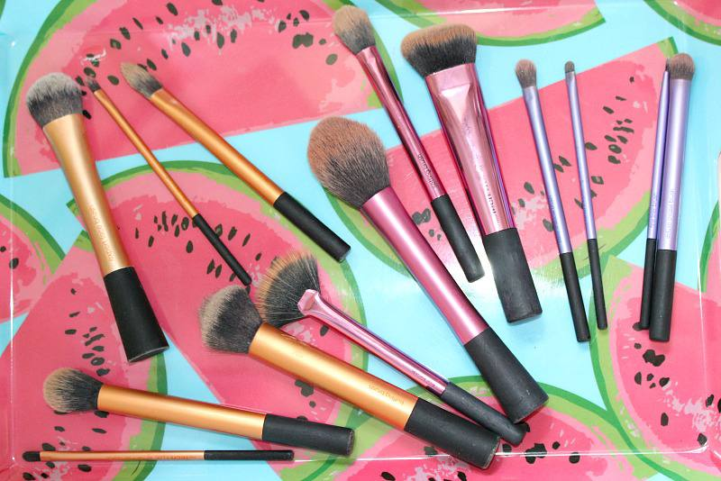 makeup brushes - real techniques