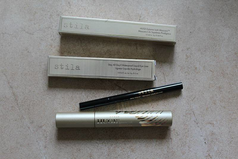 Stila Huge Extreme Lash Mascara & Stay All Day Liquid Eye Liner | Review