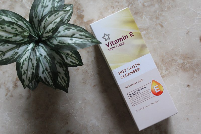Vitamin E Hot Cloth Cleanser