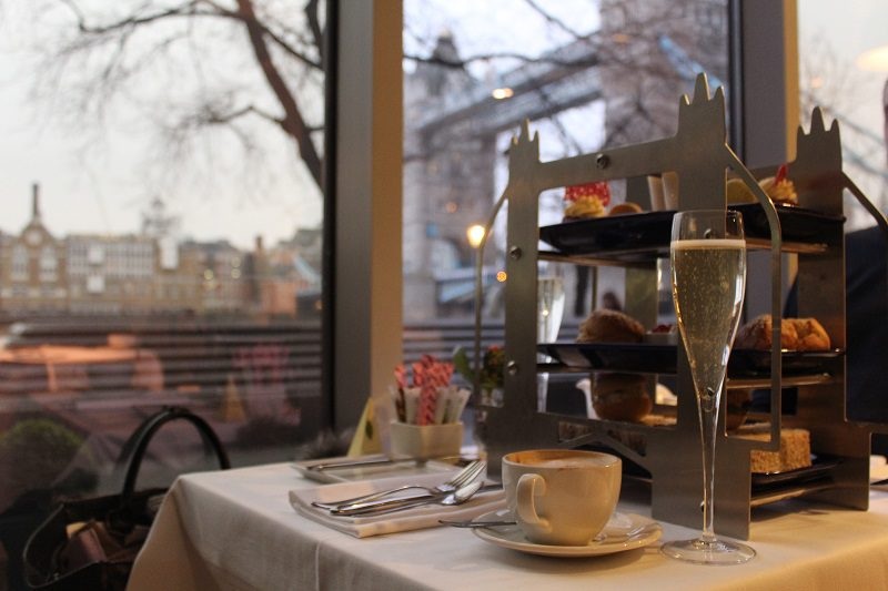 Sparkling Afternoon Tea for Two at the Tower Hill Hotel London